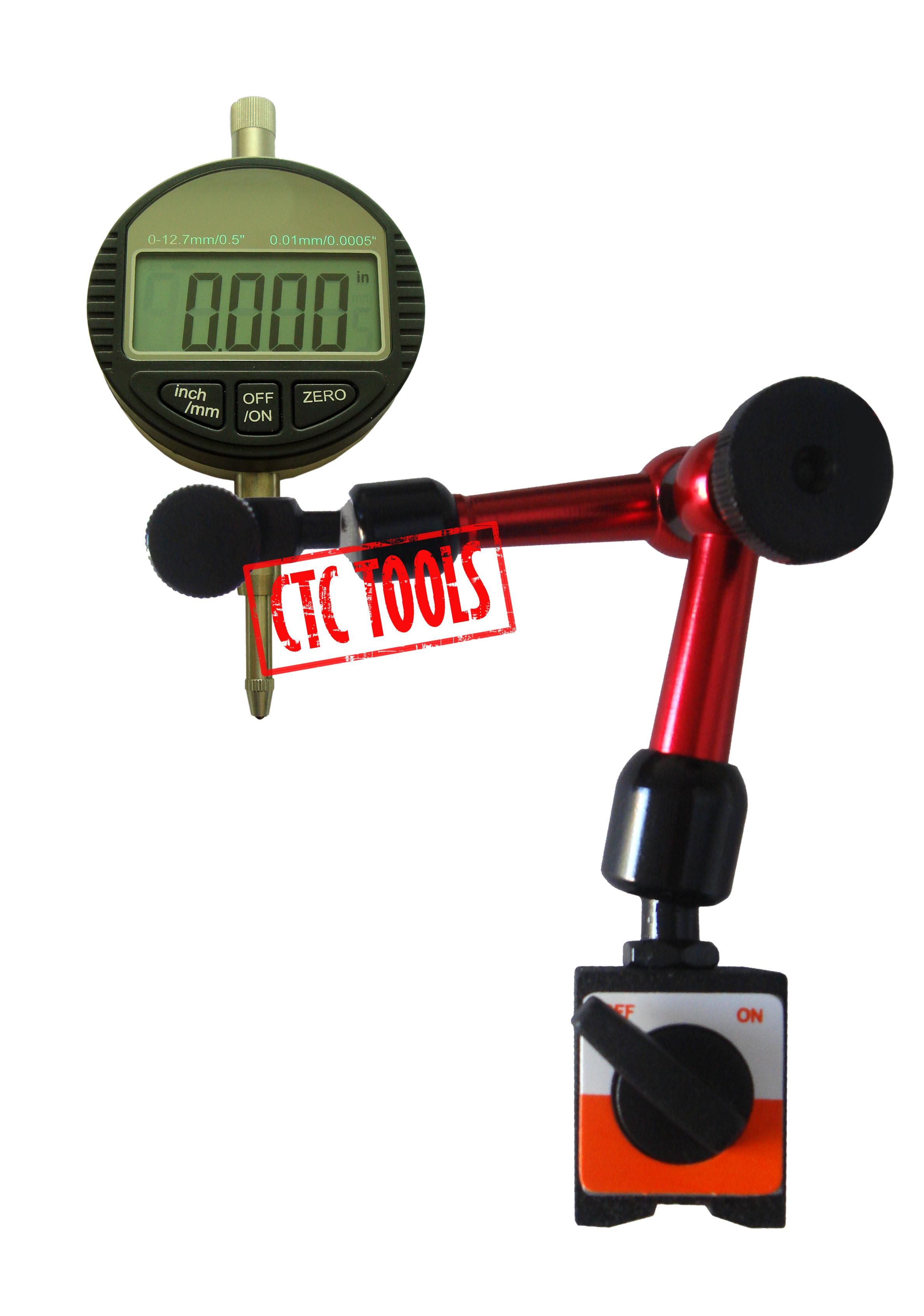 Digital Dial Indicator Gauge Amp Magnetic Base Measuring